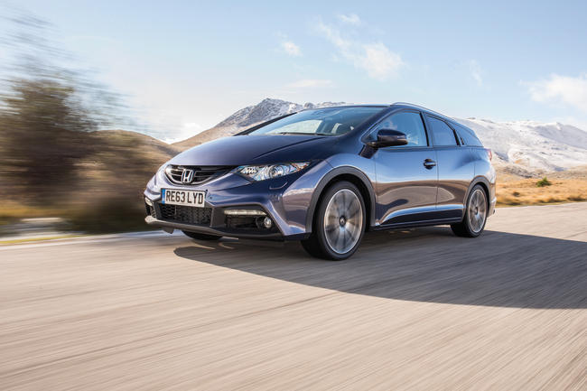 Honda Civic Tourer 1.6 i D-Tec Executive: Un break familial redoutable d'efficacité