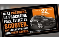 Quand Sixt recycle l'affaire Hollande-Gayet
